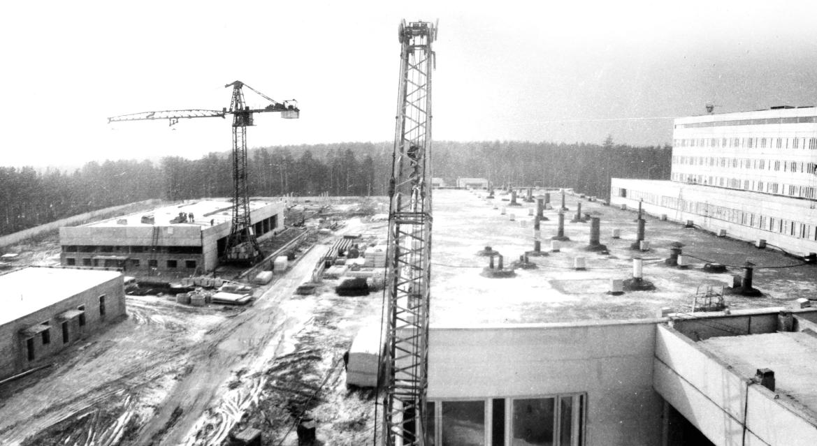 Строительство испытательно-контрольного комплекса в Жуковском районе (в настоящее время 2-я площадка завода «Сигнал»)